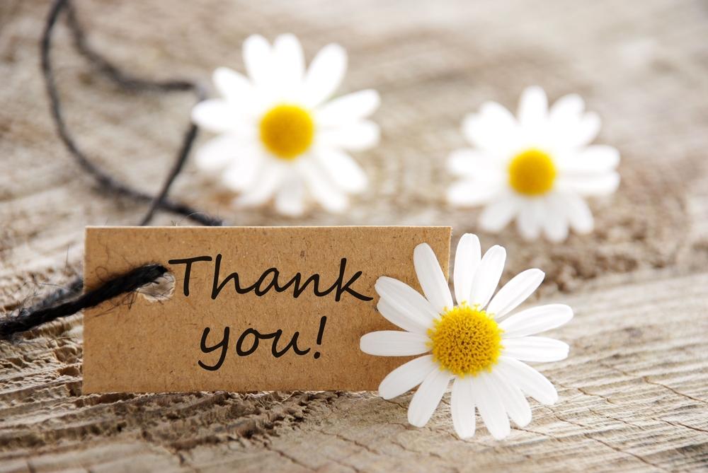 英語で【感謝・お礼】を伝える時に使える言い回しまとめ